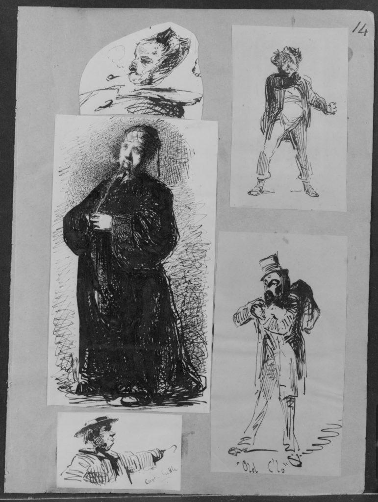 Man Smoking (from Sketchbook)