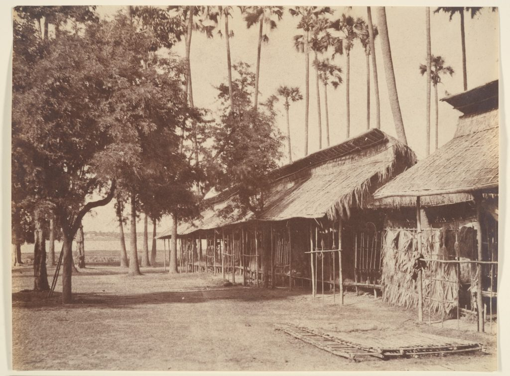 Amerapoora, Barracks of the Burmese Guard
