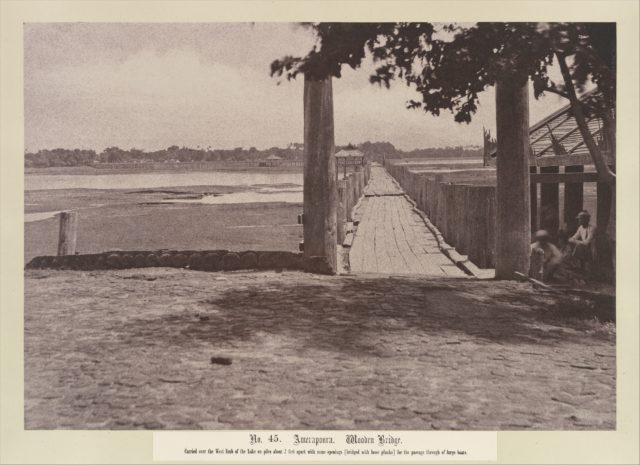 Amerapoora: Wooden Bridge