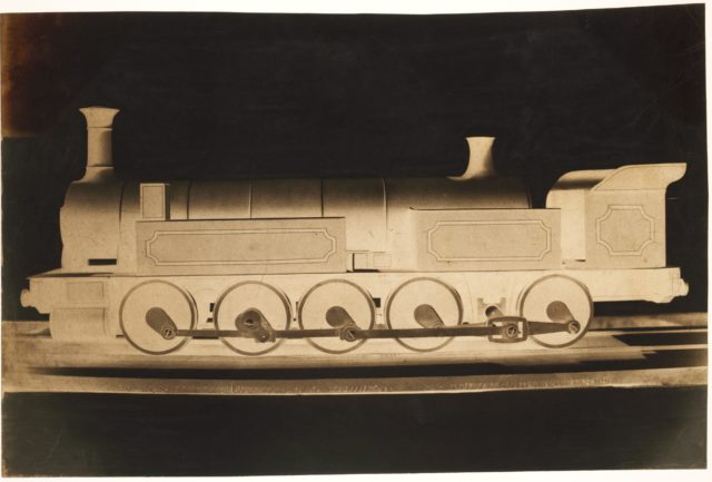 [Model of a P.L.M. Locomotive]