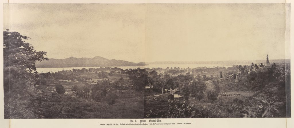 No. 1. Prome. General View.