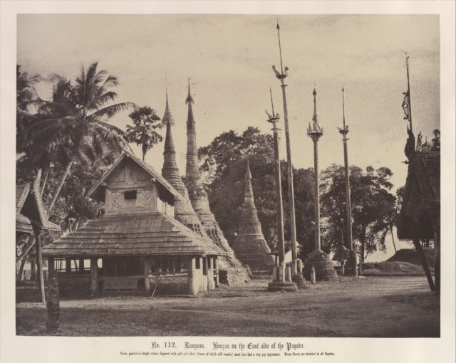 Rangoon: Henzas on the East Side of the Shwe Dagon Pagoda