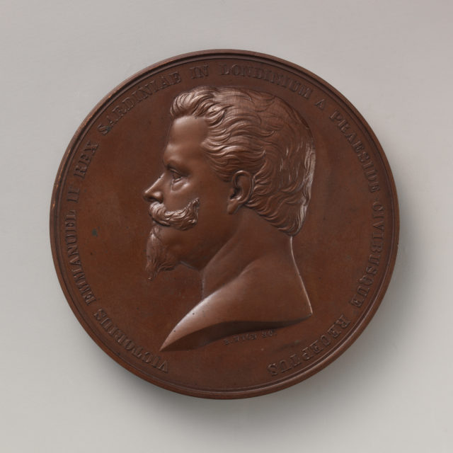 To Commemorate the Reception by the City of London of King Victor Emanuel, of Sardinia, December 4, 1855