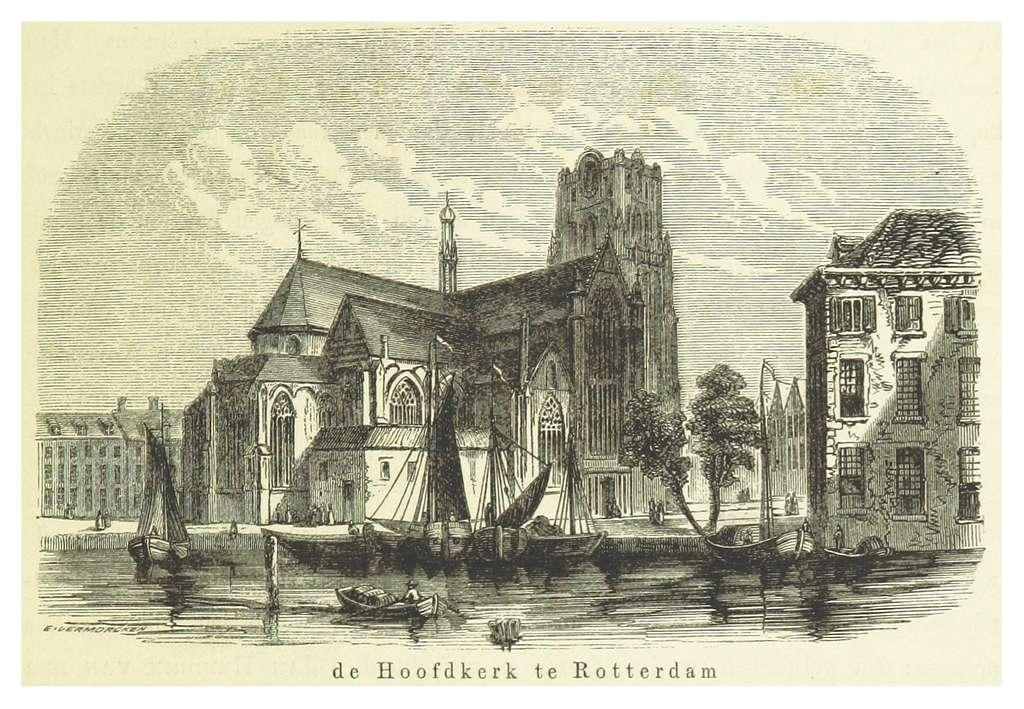 AA(1855) p055 ROTTERDAM, de Hoofdkerk