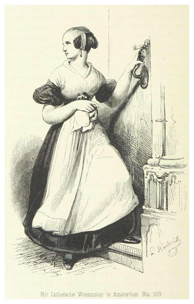 AA(1855) p178 Luthersche Weesmeisje te Amsterdam