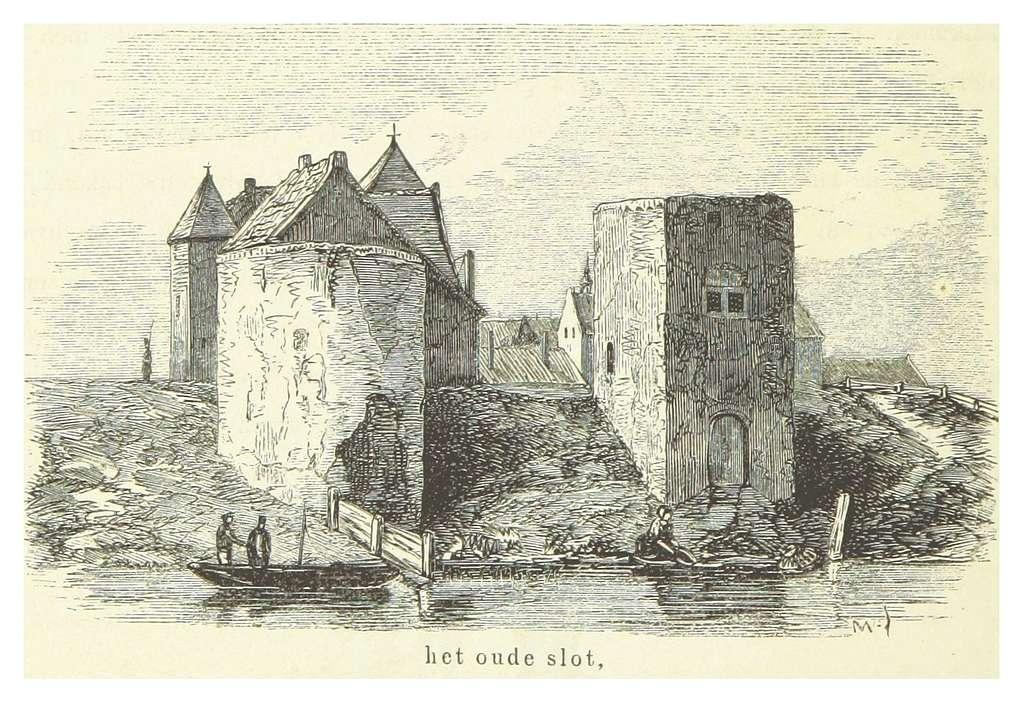 AA(1855) p260 MEDEMBLIK, het slot