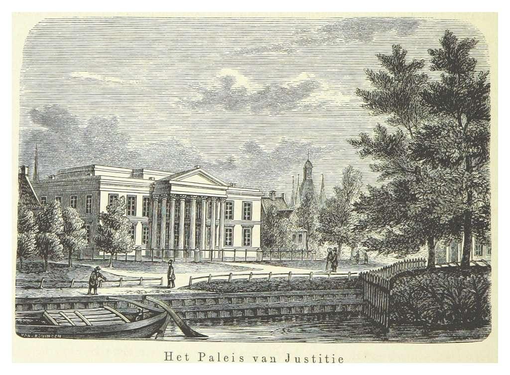 AA(1855) p354 ZWOLLE, het Paleis van Justitie