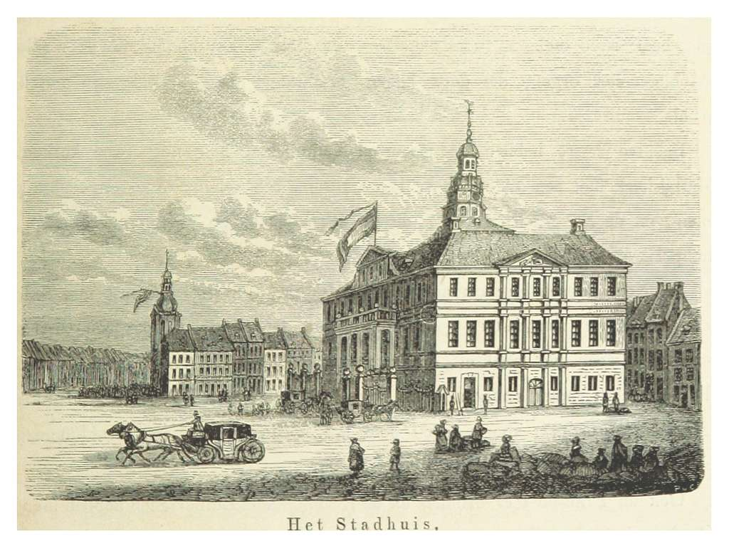 AA(1855) p447 MAASTRICHT, Stadhuis