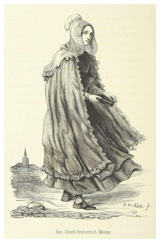 AA(1855) p460 Een Noord-Brabantsch Meisje