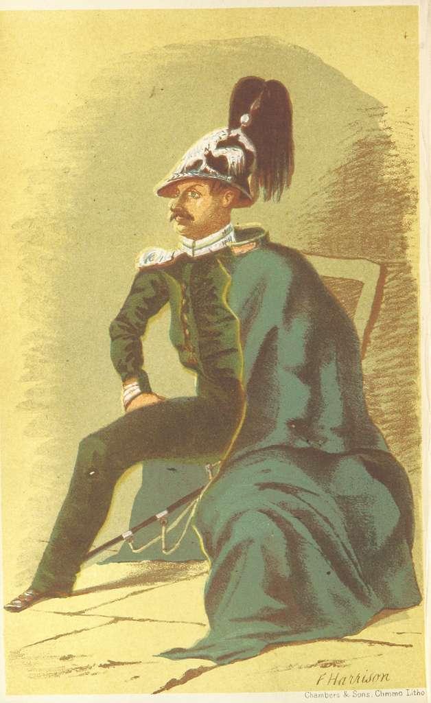 HARRISON(1855) p240 Staff-Captain of the Volhinsky Regiment