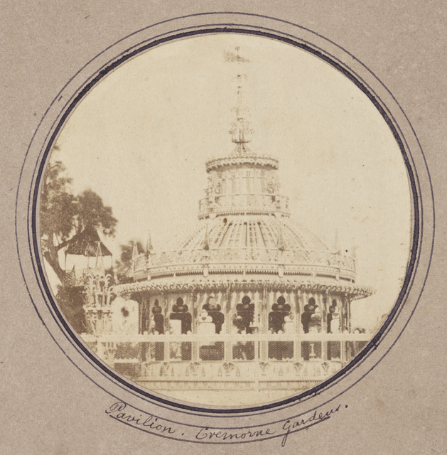 Pavilion. Cremorne Gardens.
