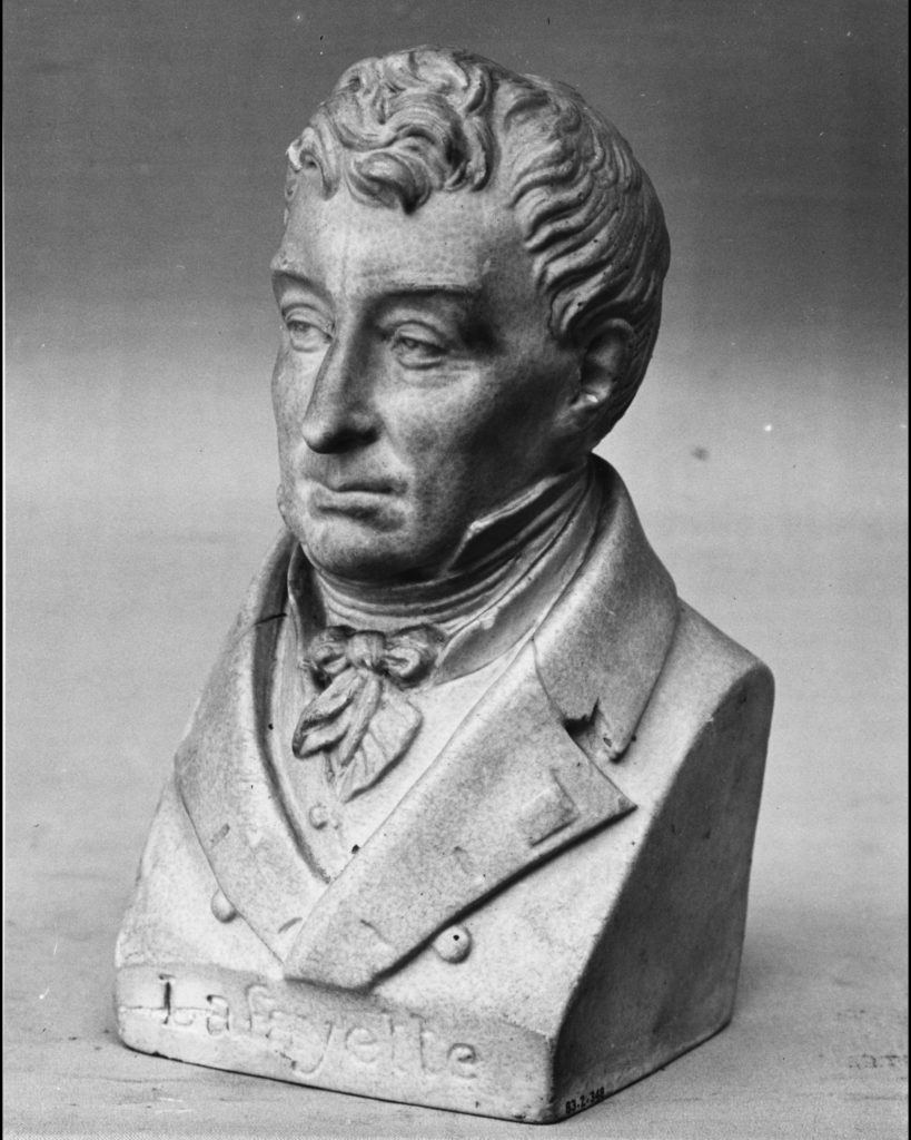 Bust of the Marquis de Lafayette