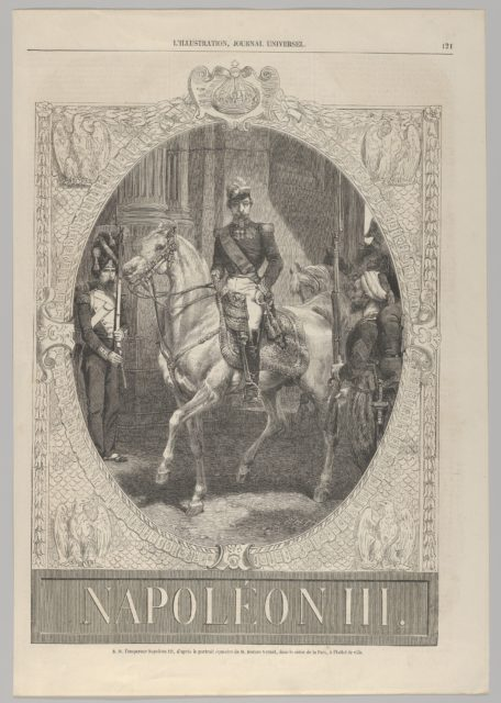 "Napoléon III (from ""L'Illustration"")"