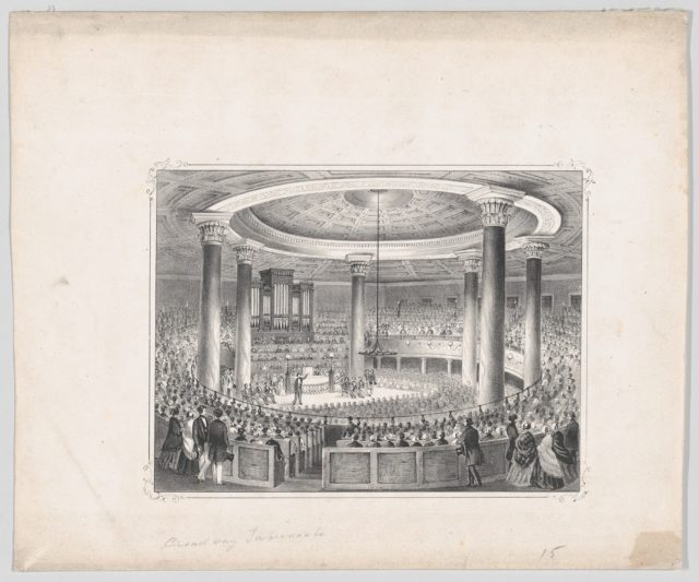 The Broadway Tabernacle, New York, in Anniversary Week