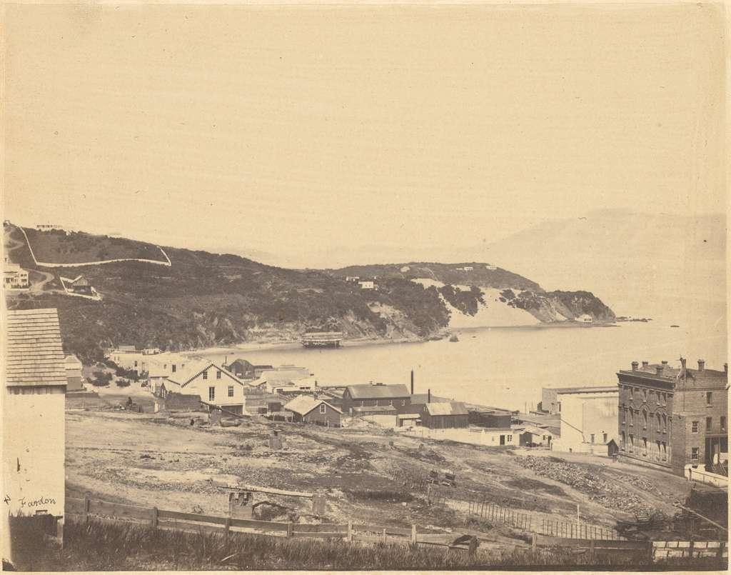 G. R. Fardon (British - (View of North Beach, from Telegraph Hill) - Google Art Project