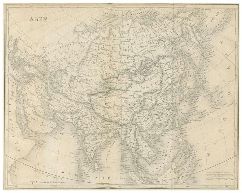 MALTE-BRUN(1856) 2.599 ASIE