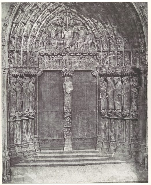[Chartres Cathedral, Central Portal of the South Transept; The Last Judgment]