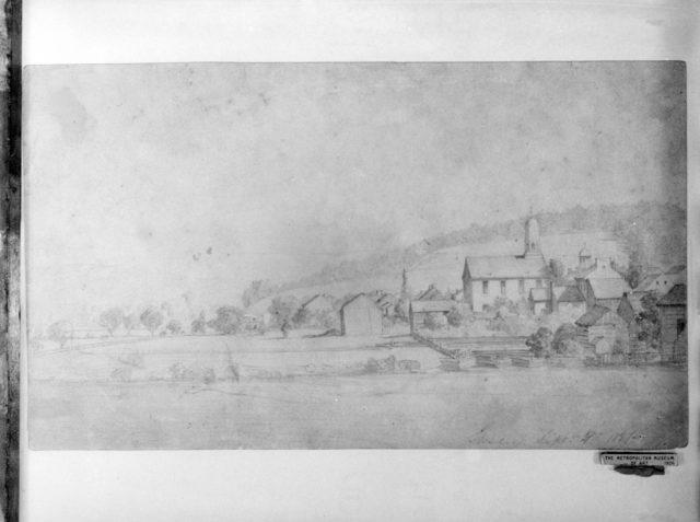 Landscape (Shirley, Massachusetts) (from McGuire Scrapbook)