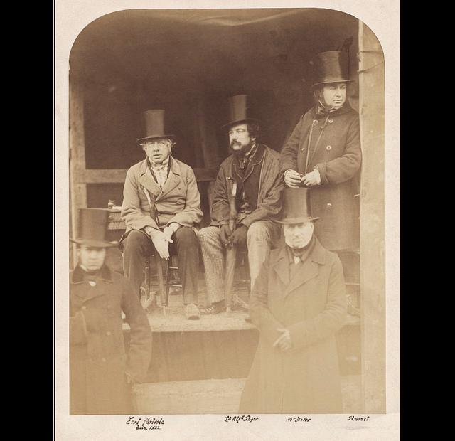 Possibly John Trotman; George William Frederick Howard, 7th Earl of Carlisle; Lord Alfred Henry Paget; John Yates; Isambard Kingdom Brunel png Mw115461