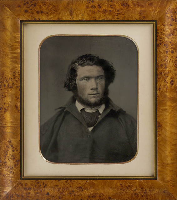 James Johnson, survivor of the wreck of the Dunbar, Sydney, 1857 / [hand coloured ambrotype attributed to Thomas Glaister]