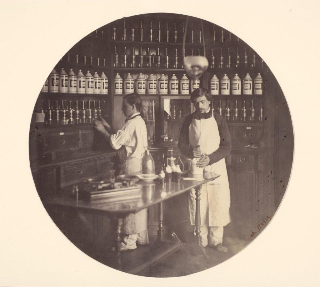 Asile Impériale de Vincennes, la pharmacie