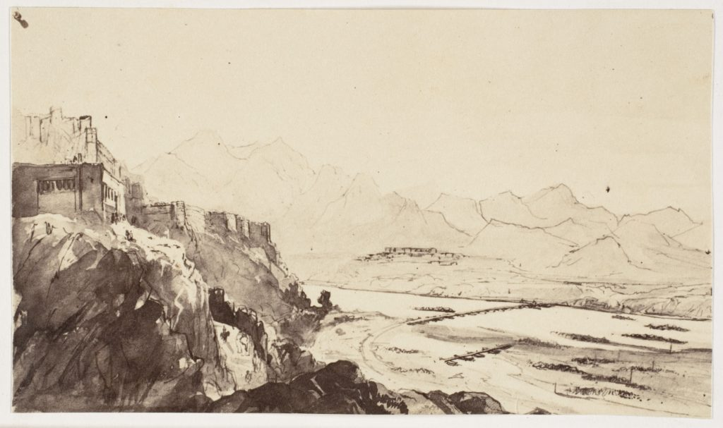 [Attock on the Indus River- From a Drawing]