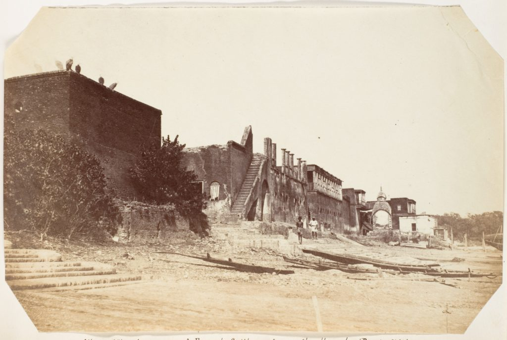[Burning Ghat, Chandanagore-a French Settlement on the Hoogly]