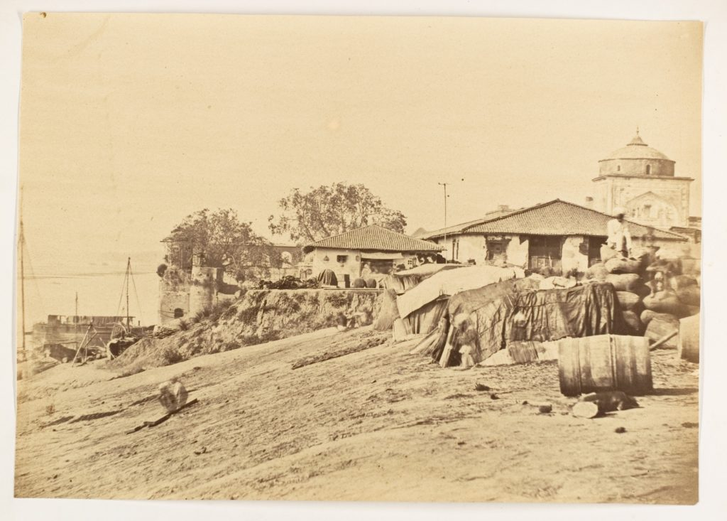 [Ghat at Allahabad Fort]