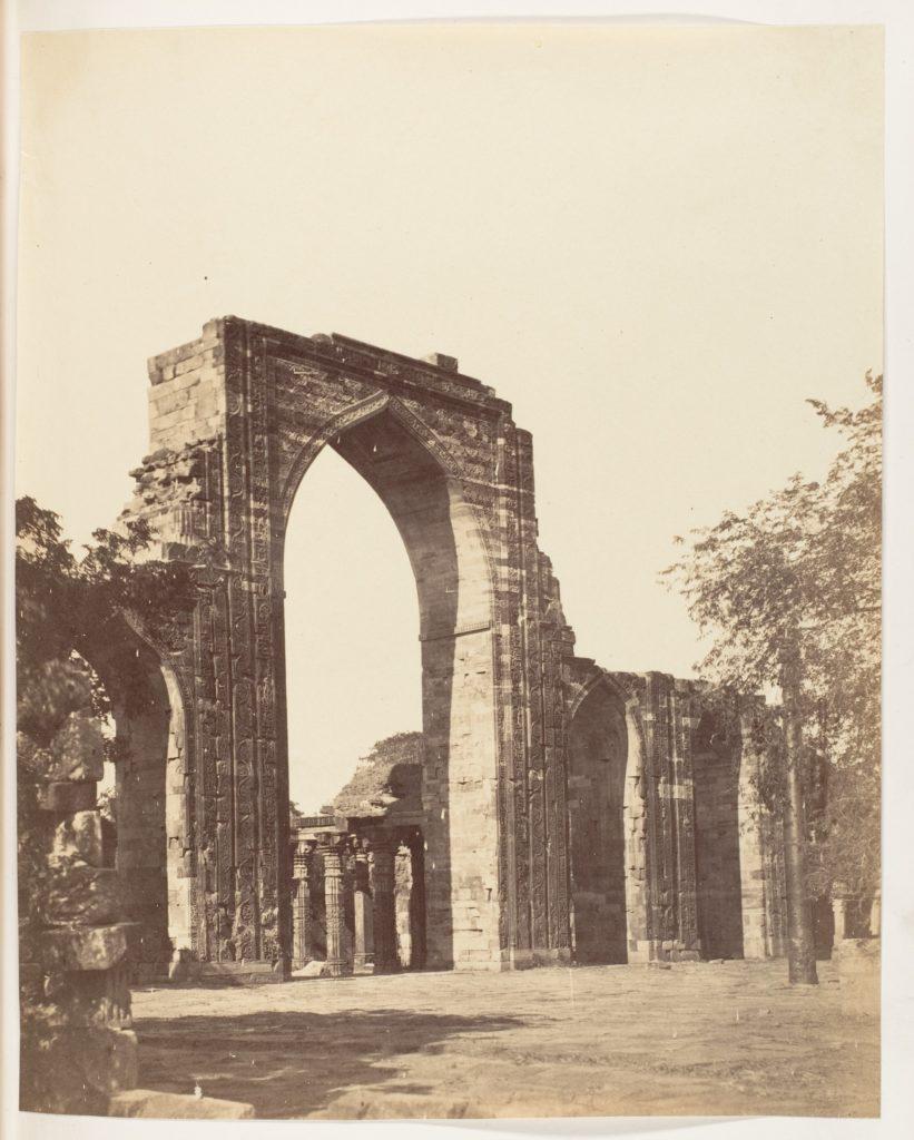 [Mahomedan Arch at the Qutub Minar, Delhi]