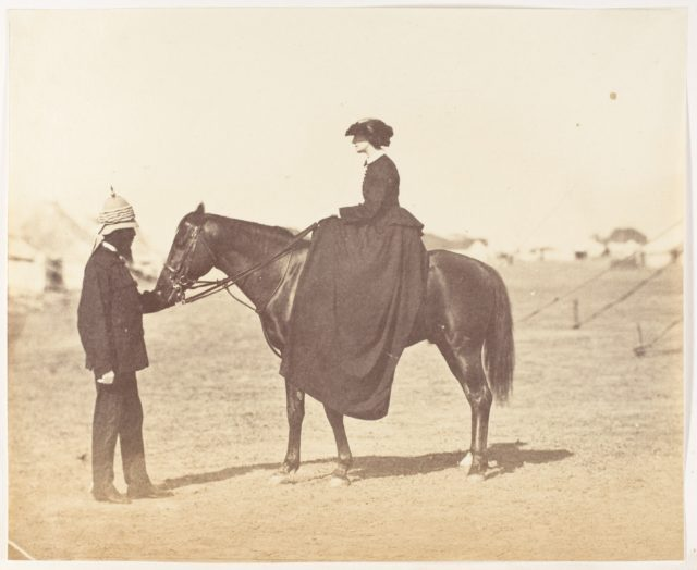 [Major Jones and Lady Canning]
