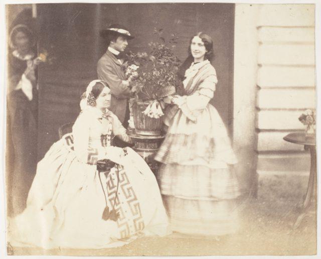 [Mrs Stuart, J.C.S and Mrs d'Aguilar, Barrackpore]