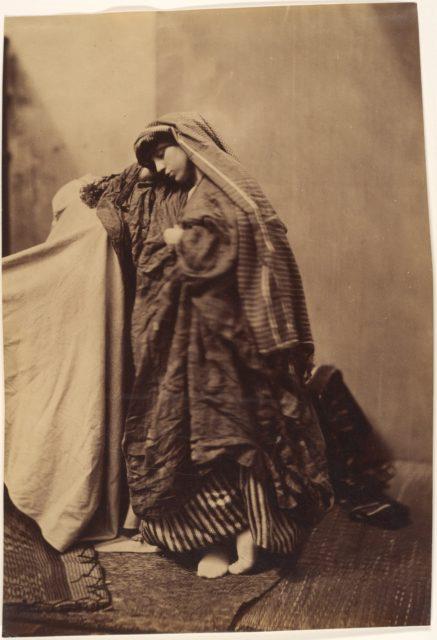 [Orientalist Study of a Woman]