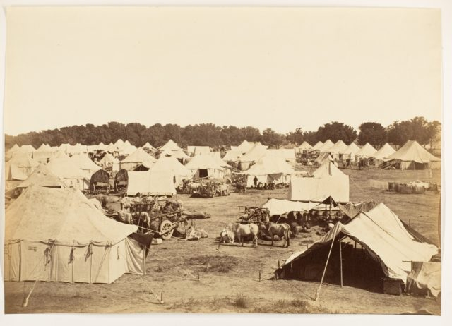 [Right Flank of Governor Generals Camp]