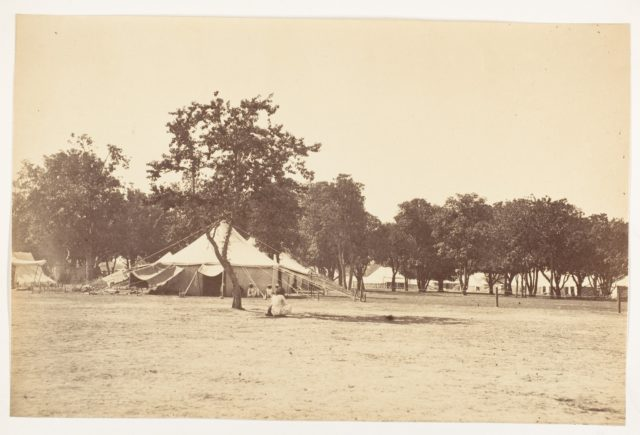 [Side View of Main Street, Governor General's Camp]