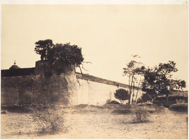 South East Angle of the Tirambur Pagoda