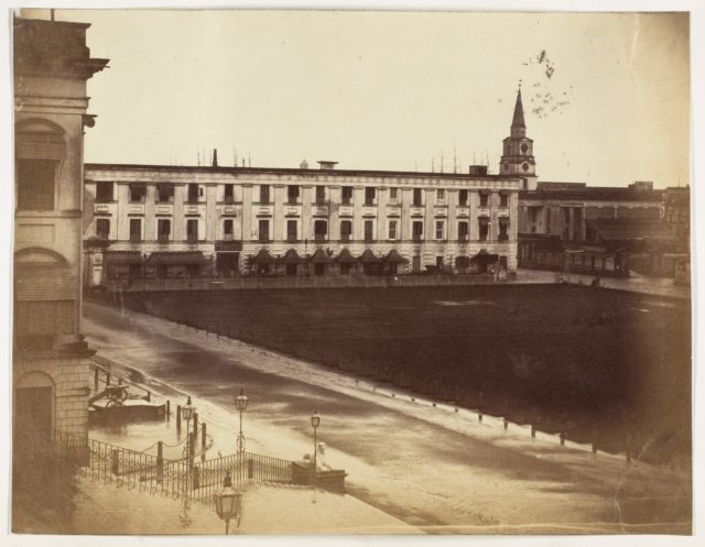 [Spence's Hotel & St. John's Cathedral, Calcutta]