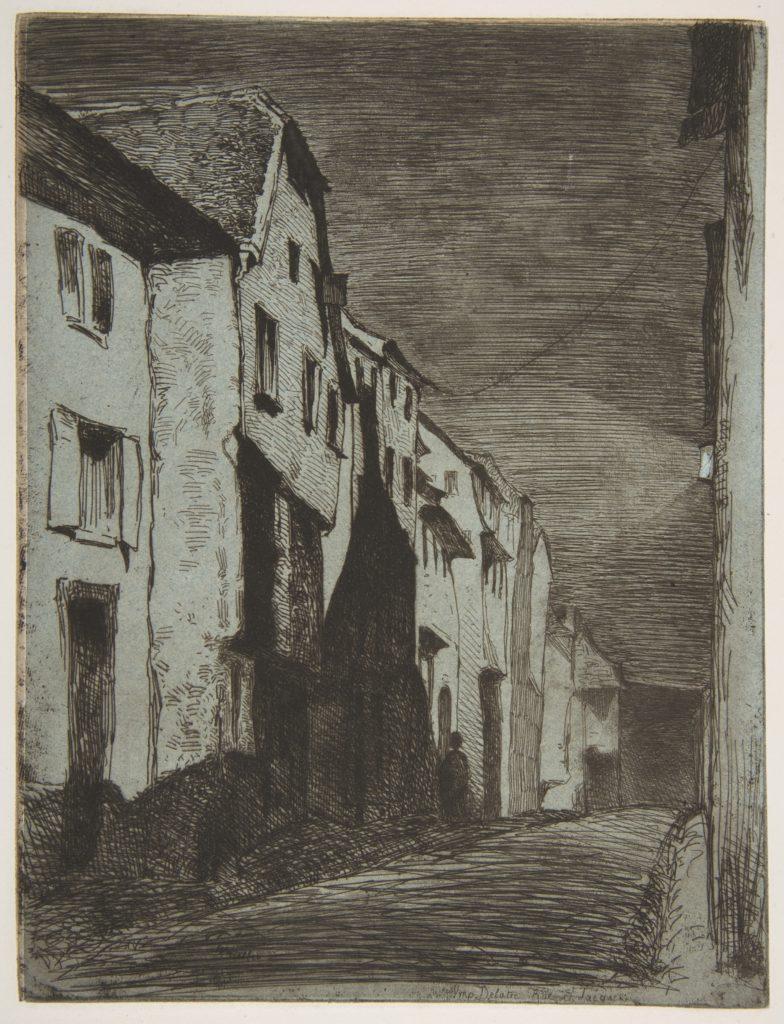 Street at Saverne