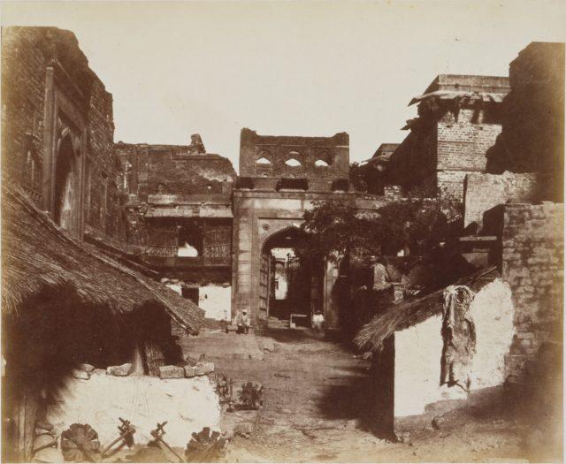 Street in Fatehpur Sikri, India