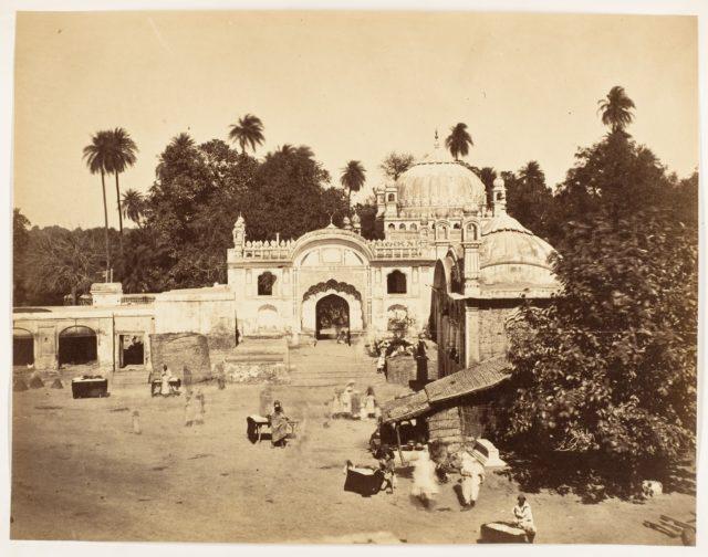 [Temple at Karnaul Sirhinde]