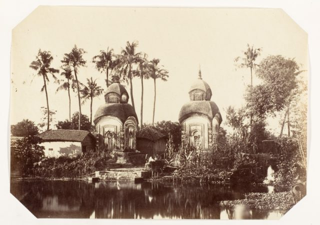 [Temple in the Suburbs of Calcutta]