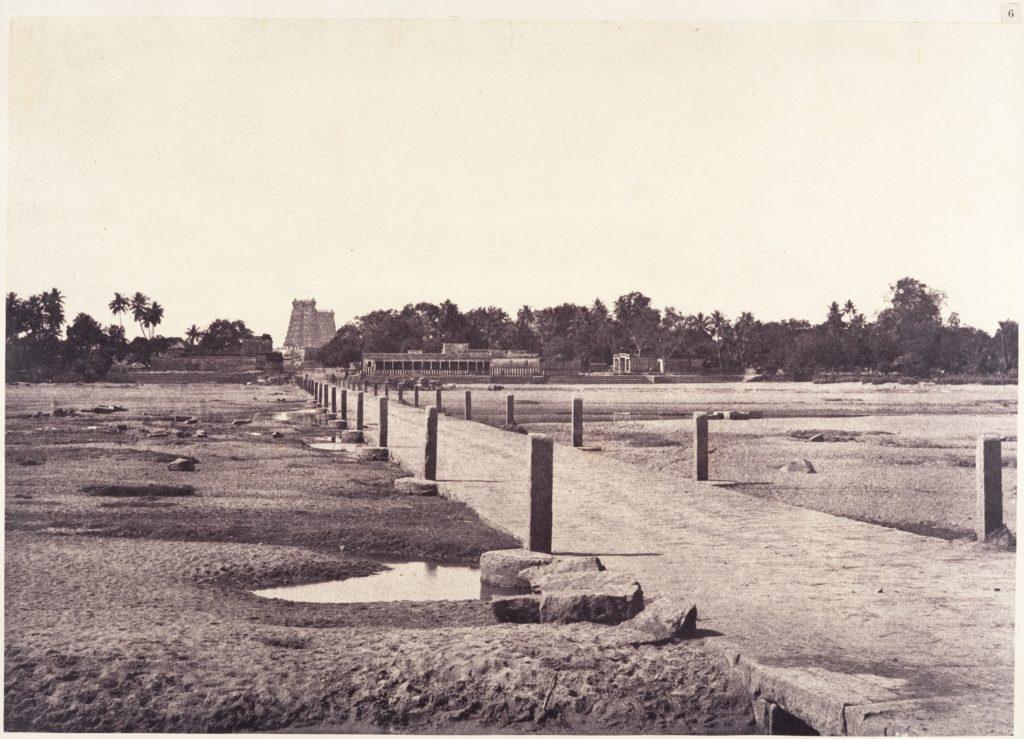 The Causeway Across the Vaigai River