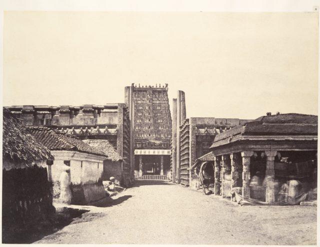 The Raya Gopuram from E.