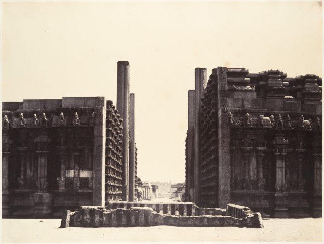 The Raya Gopuram from W