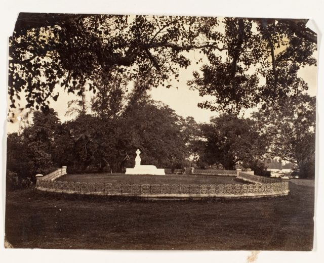 [Tomb of Lady Charlotte Canning, Barrackpur ]