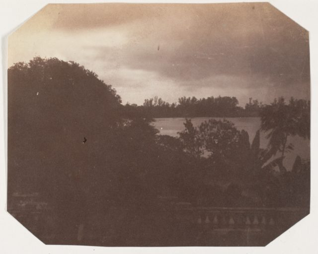[View from the Government House, Barrackpore]