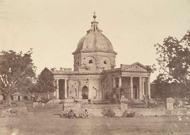 St. James' Church, Delhi in 1858