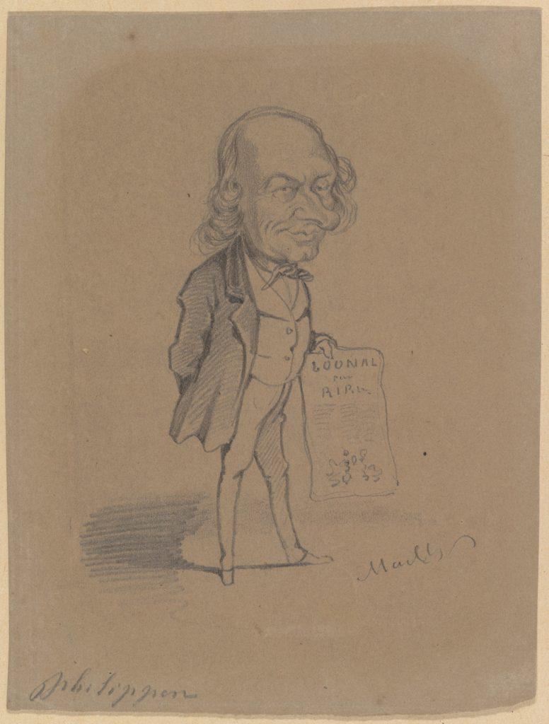 Caricature of Charles Philipon