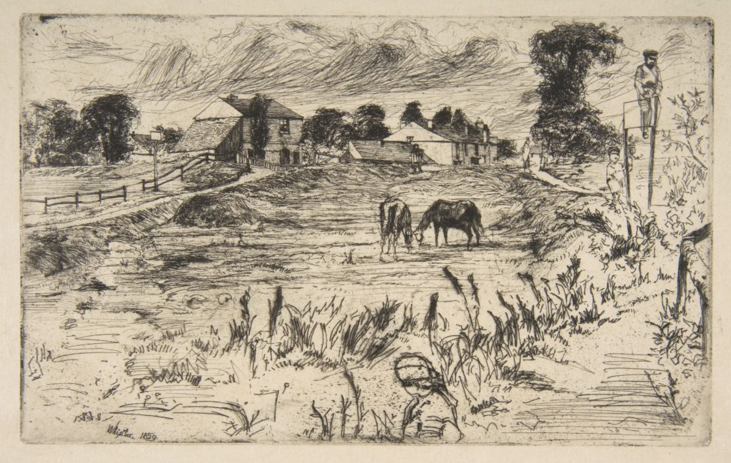 Landscape with the Horse (Landscape with Horses)