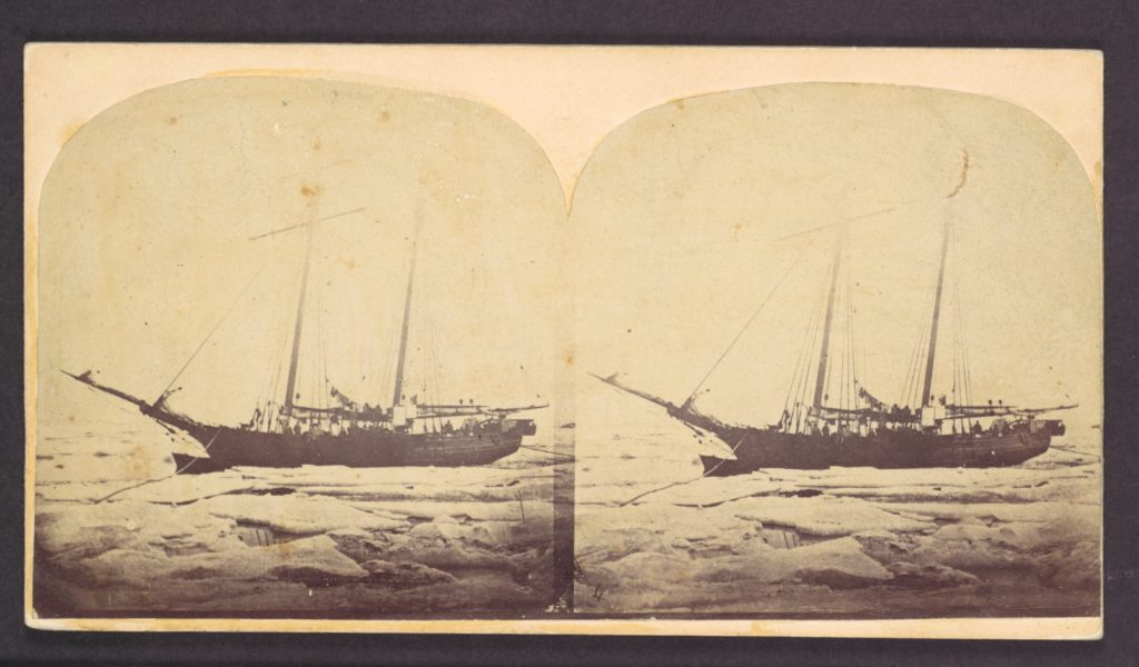 [Ship in Ice, Greenland Expedition]
