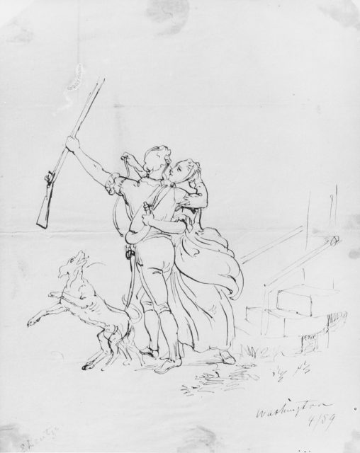 The Soldier's Farewell (from McGuire Scrapbook)